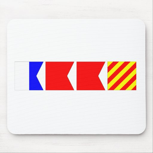 Code Flag Abby Mouse Pad