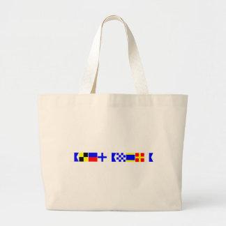 Code Flag Alexandra Tote Bag