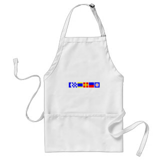 Code Flag Andrew Adult Apron