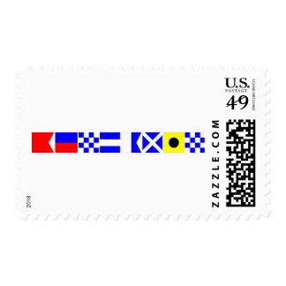 Code Flag Benjamin Postage