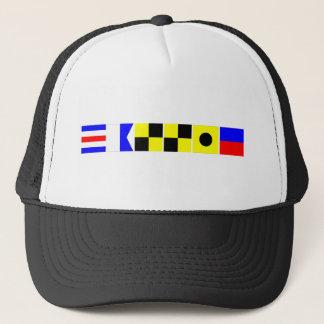 Code Flag Callie Trucker Hat