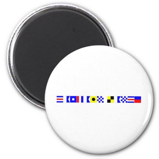 code flag captain lance magnet