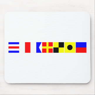 Code Flag Charlie Mouse Pad