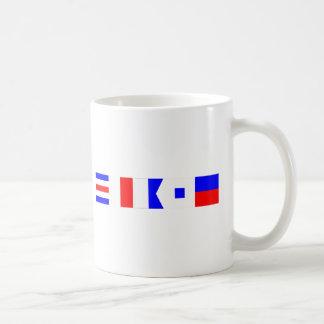 Code Flag Chase Coffee Mugs