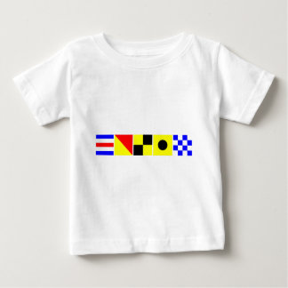 Code Flag Colin Baby T-Shirt