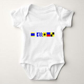 Code Flag Daniel Baby Bodysuit