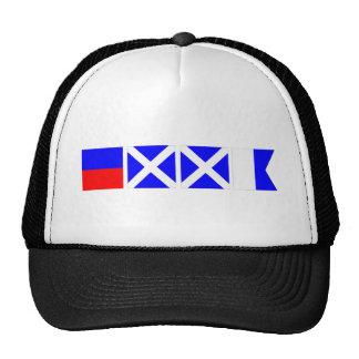 Code Flag Emma Trucker Hat
