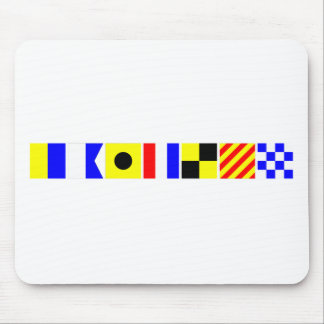 Code Flag Kaitlyn Mouse Pad