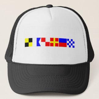 Code Flag Lauren Trucker Hat