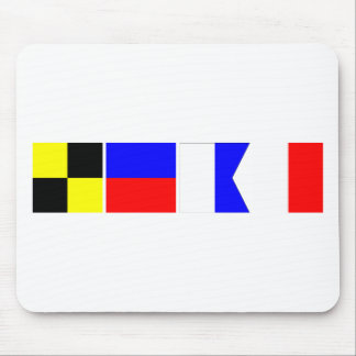 Code Flag Leah Mouse Pad