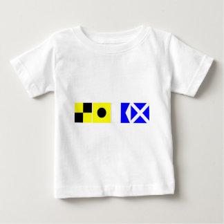 Code Flag Liam Baby T-Shirt