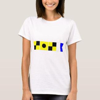 Code Flag Lila T-Shirt