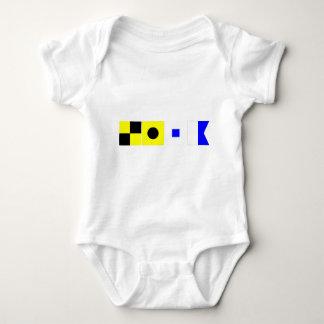Code Flag Lisa Baby Bodysuit