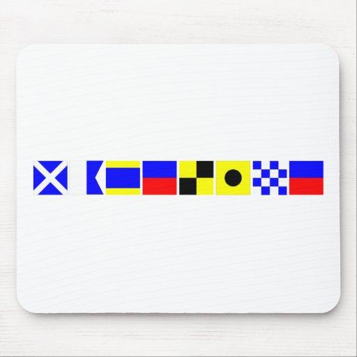 Code Flag Madeline Mouse Mats