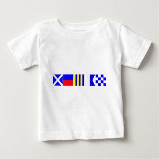 Code Flag Megan Baby T-Shirt