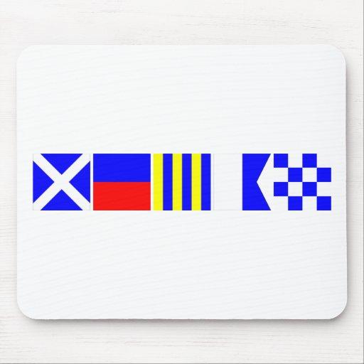 Code Flag Megan Mouse Pad