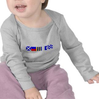 Code Flag Megan Tee Shirt