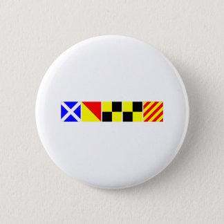 Code Flag Molly Pinback Button