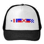 Code Flag Steven Trucker Hat