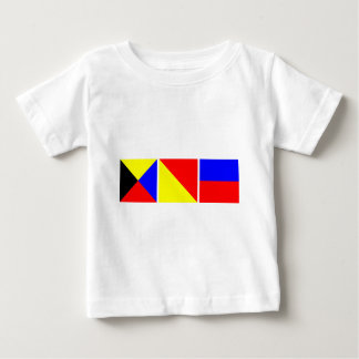 Code Flag Zoe Baby T-Shirt