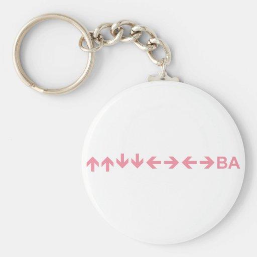Code in Purple Keychains