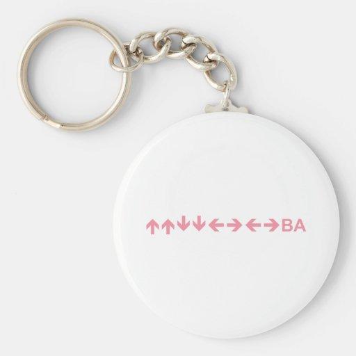 Code in Purple Key Chain