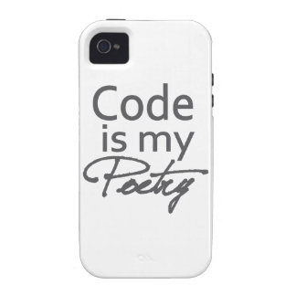 Code is my poetry iPhone 4/4S covers