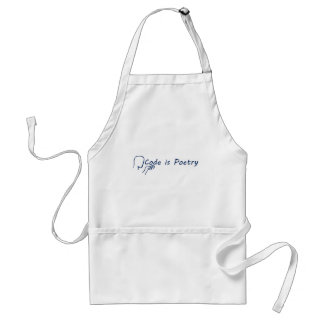 Code is Poetry Adult Apron