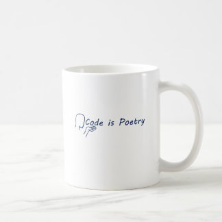 Code is Poetry Coffee Mug