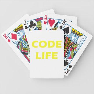 Code Life Bicycle Card Decks