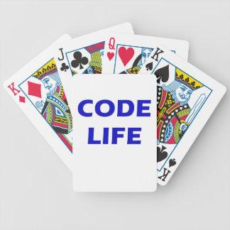 Code Life Bicycle Poker Deck