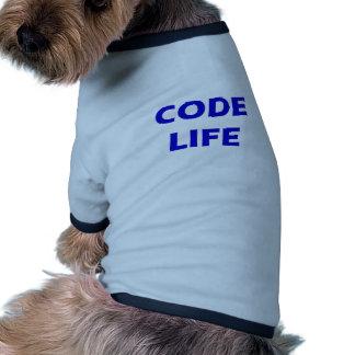 Code Life Pet T-shirt