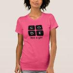 Code Like a Girl Shirts
