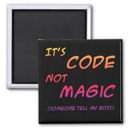 Code Magic Magnet