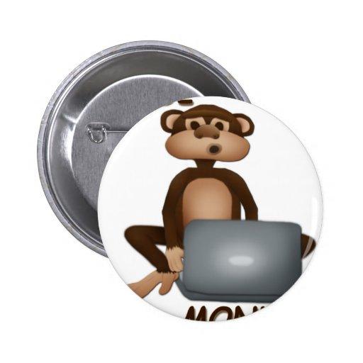 Code Monkey Pins