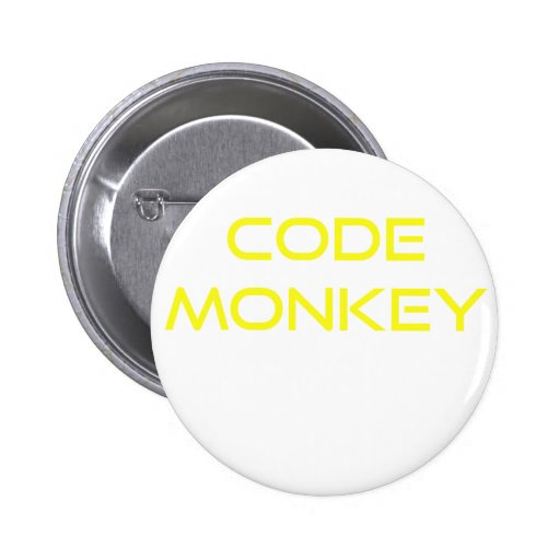Code Monkey Pinback Buttons