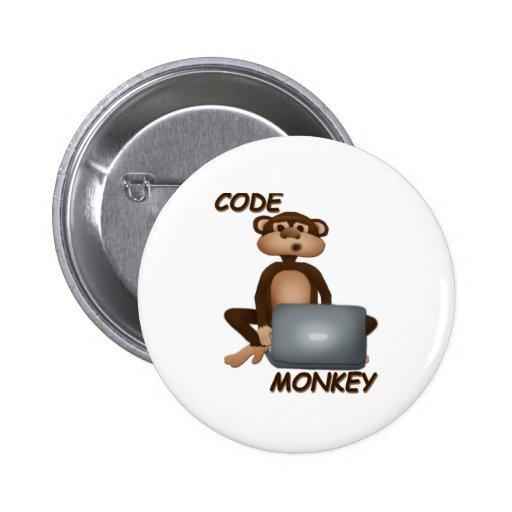 Code Monkey Pin