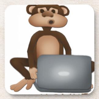 Code Monkey Drink Coaster