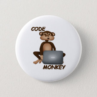 Code Monkey Pinback Button