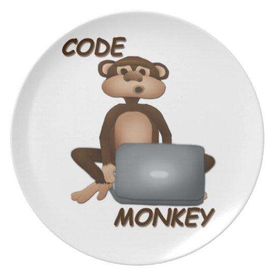 Code Monkey Plate