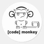 [Code] Monkey Sticker