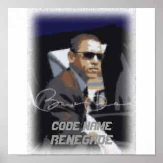 Code Name Renegade Posters