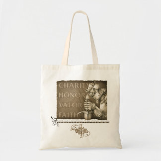 Code of Chivalry Canvas Bag