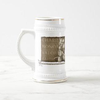 Code of Chivalry Beer Stein