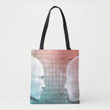 Professional Business Code of Ethics in Technology as a Business Concept Tote Bag