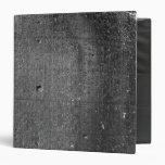 Code of Hammurabi, detail of column inscription 3 Ring Binders