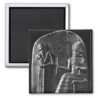 Code of Hammurabi, top of the stele Magnet