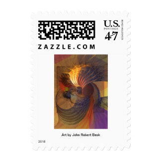 Code Of Justice Postage Stamp