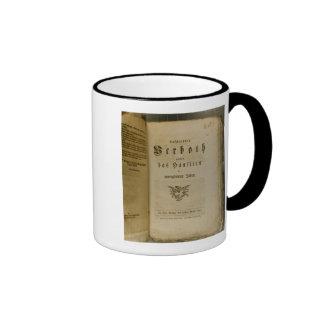 Code of Procedure from 1776 Mug