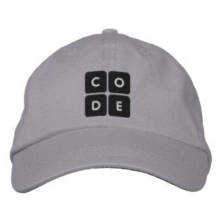 Code org bordó el gorra